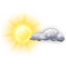 Weather Icon: Prevažne jasno
